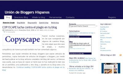 UNION DE BLOGGERS HISPANOS.