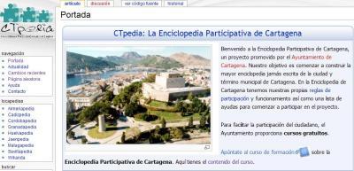 """CTPEDIA """"LA ENCICLOPEDIA PARTICIPATIVA DE CARTAGENA"""""""